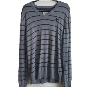 2 for $20 Aeropostale Vneck Sweater size XL - grey